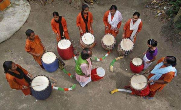 image عکسی دیدنی از فستیوال دورگا پوجا در کلکته هند