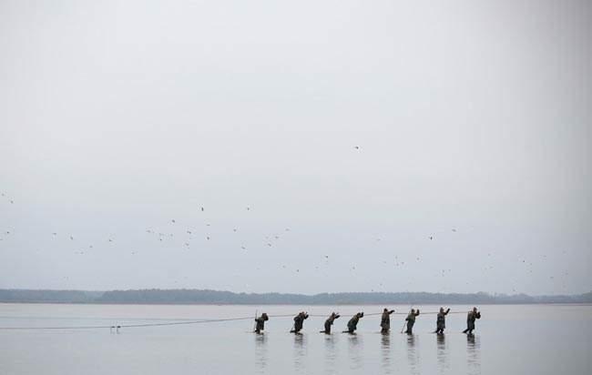image, ماهیگیری در رودخانه روزمبرک در جمهوری چک