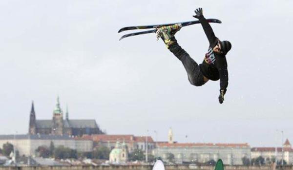image مسابقات اسکی در سطح شیب دار در پراگ