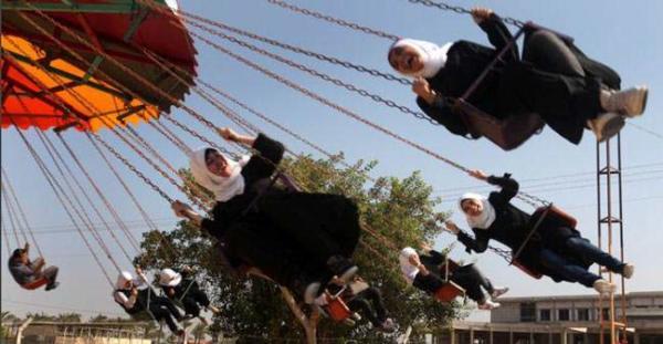 image, پارک تفریحی البشیر در حومه شهر غزه
