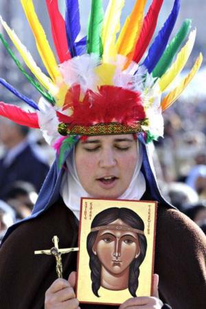 image مراسم تشریع هفت قدیس جدید مذهب کاتولیک