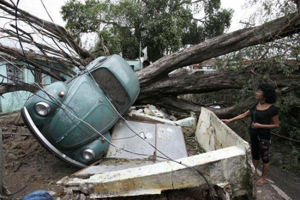 image صدمات توفان در ریودوژانیرو برزیل