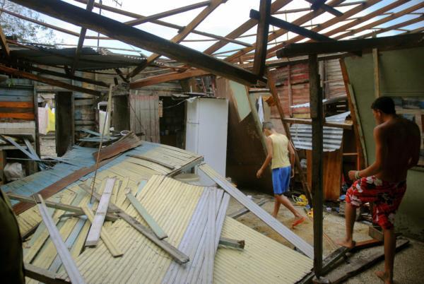 image اخبار و گزارش کامل تصویری لحظه ای از خرابی های طوفان سندی در امریکا