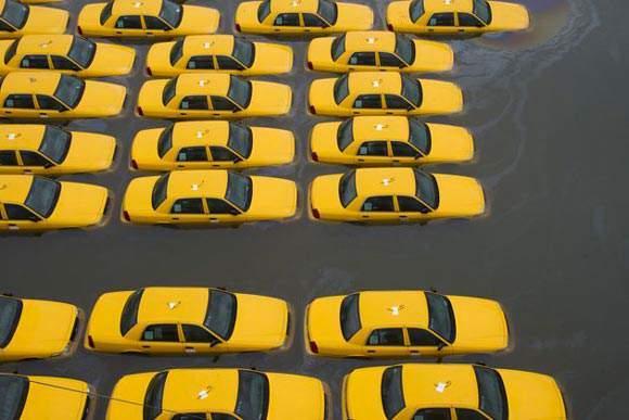 image گزارش تصویری خرابی های ناشی از توفان سندی در آمریکا