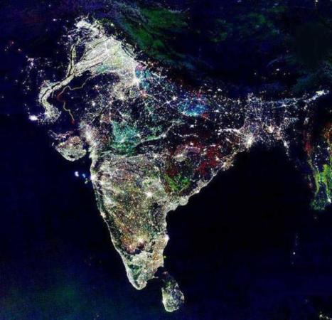 image عکسی هوایی از هند