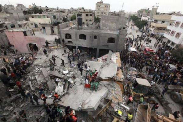 image, ادامه حملات اسراییل به غزه