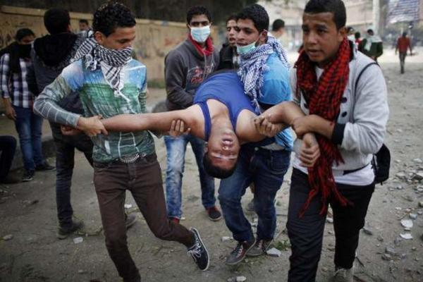 image ادامه اعتراضات علیه محمد مرسی رییس جمهوری مصر در قاهره