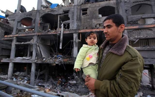 image ویرانه های حملات هوایی اسراییل به غزه