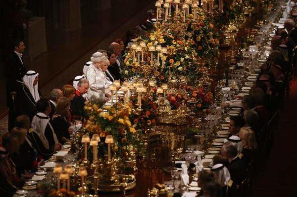 image دیدار الیزابت دوم ملکه بریتانیا و امیر کویت در لندن