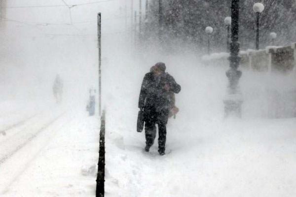 image بارش برف سنگین در زاگرب کرواسی