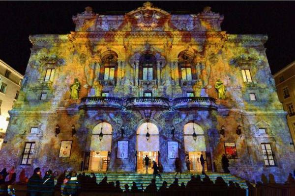 image فستیوال نور در لیون فرانسه
