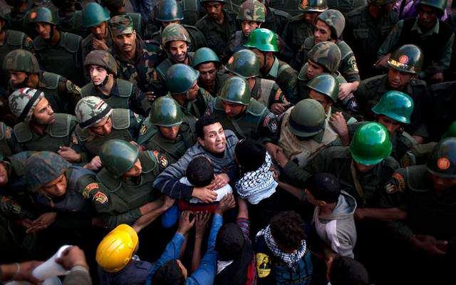 image ادامه اعتراضات علیه مرسی در قاهره