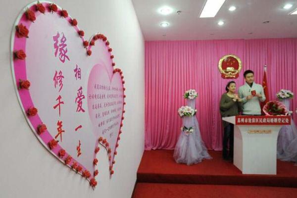 image تصویر ازدواج زوج چینی در روز ۱۲ ماه ۱۲ سال ۲۰۱۲