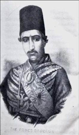 image عکسی جالب و دیدنی از چهره واقعی ناصرالدین شاه قاجار