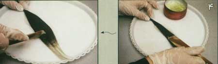 image, آموزش عکس به عکس مراحل گل شینیون مویی برای خانم ها