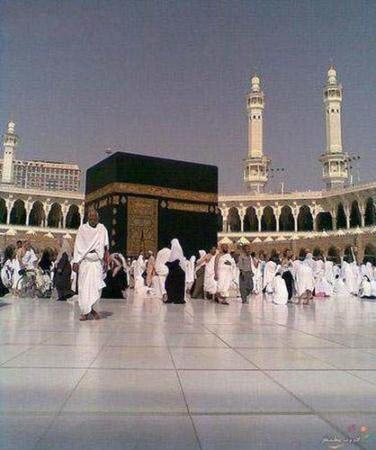 عکس, چرا همیشه سنگ فرش مسجد الحرام سرد و یخ است