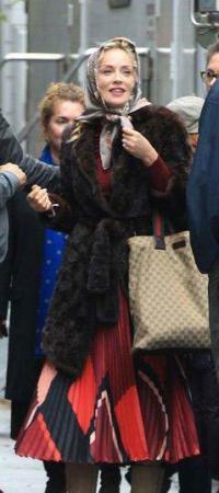 image با حجاب شدن شارون استون هنرپیشه معروف امریکایی