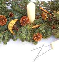 image ساخت لوستر تزیینی بسیار زیبا برای تزیین درخت کریسمس تصویری