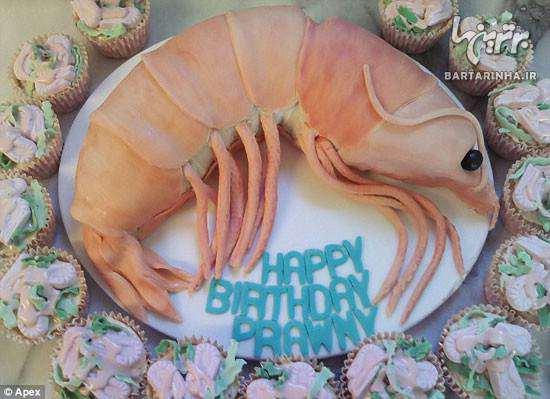 image کیک های عجیب غریب با شکل های مختلف