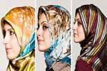 عکس, راهنمای انتخاب شال و روسری مناسب برای مانتوی مشکی