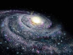 image عکسی جالب و دیدنی از لحظه خلقت جهان هستی