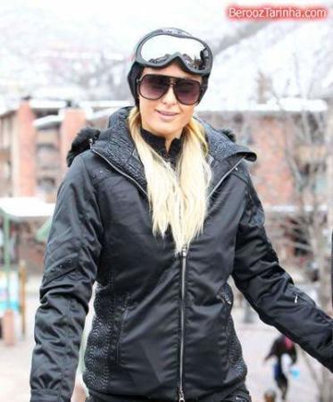 image مدل های لباس زمستانی جدید پاریس هیلتون