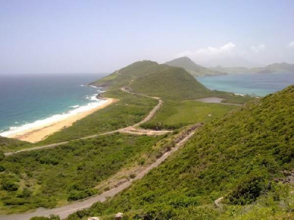 image جزئیات و تصویر جزایر کوچک سنت کیتس و نویس