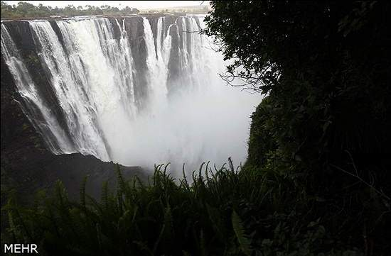 image آبشار ویکتوریا در افریقا بی نظیرترین پدیده خلقت