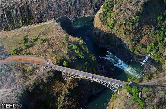 image, آبشار ویکتوریا در افریقا بی نظیرترین پدیده خلقت