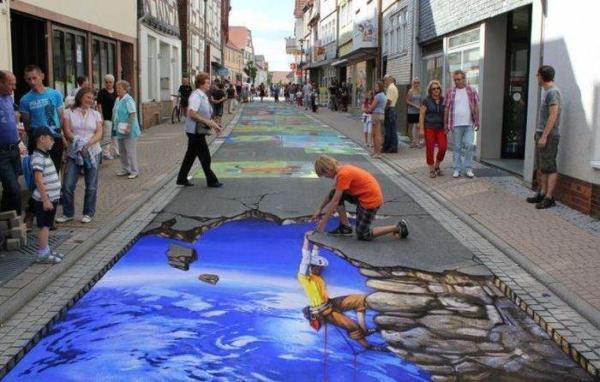 image, عکس های خلاقانه ترین هنرهای خیابانی ۲۰۱۲