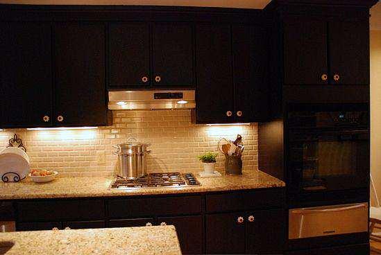 image ایده های جدید طراحی های مدرن کابین آشپزخانه با رنگ مشکی ساه