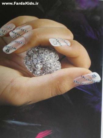 image مدل های شیک و خاص طراحی روی ناخن جدید