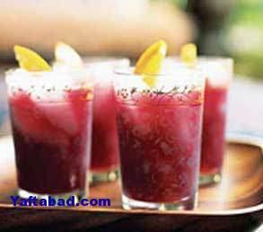 image اختصاصی درست کردن نوشیدنی پر خاصیت انار و شیرنارگیل در خانه