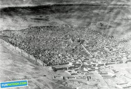 image, تصاویر بسیار دیدنی از شهر نجف در زمان قدیم