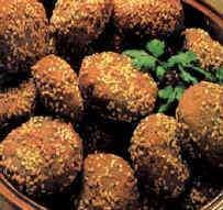 image طرز پخت فلافل بندری عربی  خوزستانی خوشمزه در خانه