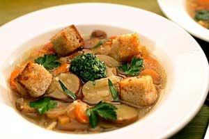 image آموزش پخت سوپ ایتالیائی رژیمی گیاهی