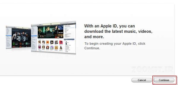 image آموزش جدید ساخت اپل آیدی برای کابران محصولات اپل