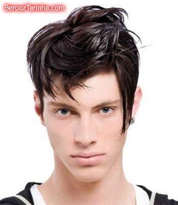 image تصویری مدل های زیبای موی پسرانه جدید