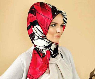 image زیباترین مدل های روسری برای خانم های خوش سلیقه ۱۳۹۱
