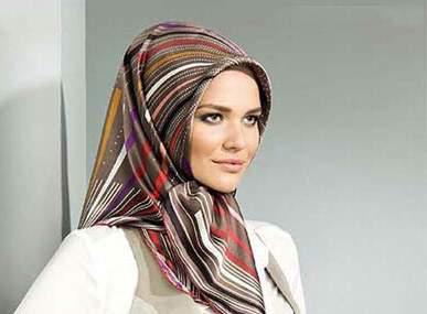 image زیباترین مدل های روسری برای خانم های خوش سلیقه