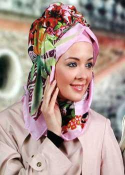 عکس, آموزش تصویری بستن روسری مدل جدید