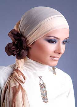 image آموزش تصویری بستن روسری مدل جدید