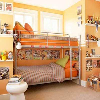 عکس, آموزش تصویری چیدمان و طراحی جدید اتاق نوزاد پسر