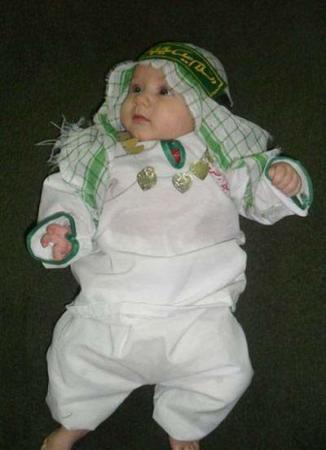 image مدل لباس نوزادان و کودکان ویژه ماه محرم و شرکت در مراسم های عزاداری