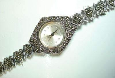 image شیک ترین مدل های ساعت نقره ای