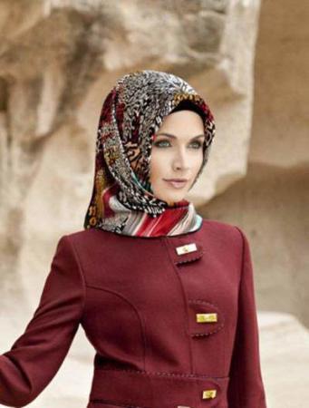 image مدل های جدید روسری مناسب برای مهمانی ها ۱۳۹۲