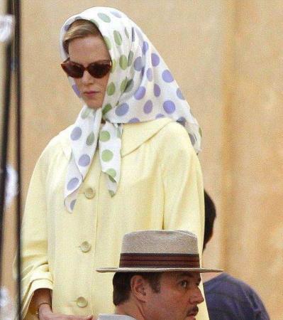 image عکس های جالب نیکول کیدمن با حجاب اسلامی در فیلم زندگی گریس کلی
