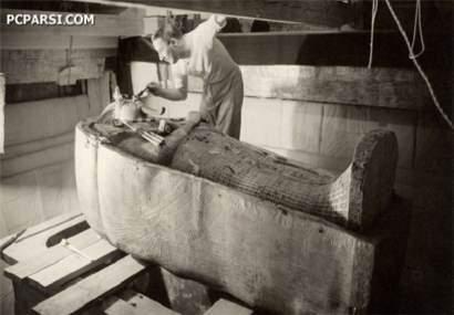 image عکس های تکان دهنده از جسد آخرین فرعون مصر
