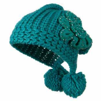 image مدل های جدید کلاه بافتنی دخترانه