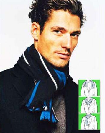 image آموزش تصویری بستن شال گردن به سه روش جدید و شیک
